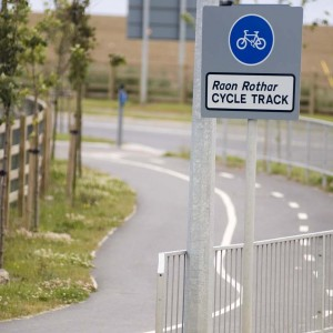 Cycle Track Signs