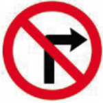 RUS-012-No-Right-Turn