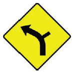 W-009L-Side-Road-on-Outside-of-Left-Bend
