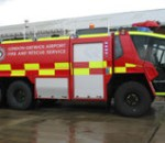 Thumbnail image of Gatwick Airport Fire & Rescue Vehicles flying high with Rennicks