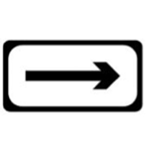 P-003R-Direction-Sign