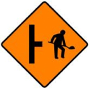 WK-053-Site-Access-on-Right-sign