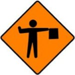 WK-061-Flagman-Ahead