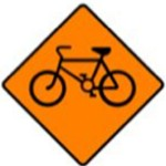 Cyclists Sign