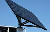 Thumbnail image of World's Largest Solar powered Full Matrix Variable Message Sign